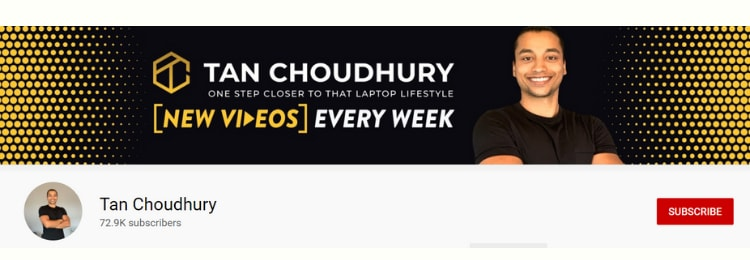tan choudhury youtube channel