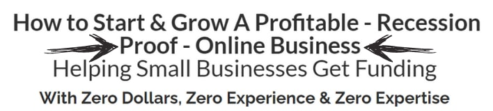 business lending blueprint make money online