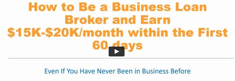 business lending blueprint sales video